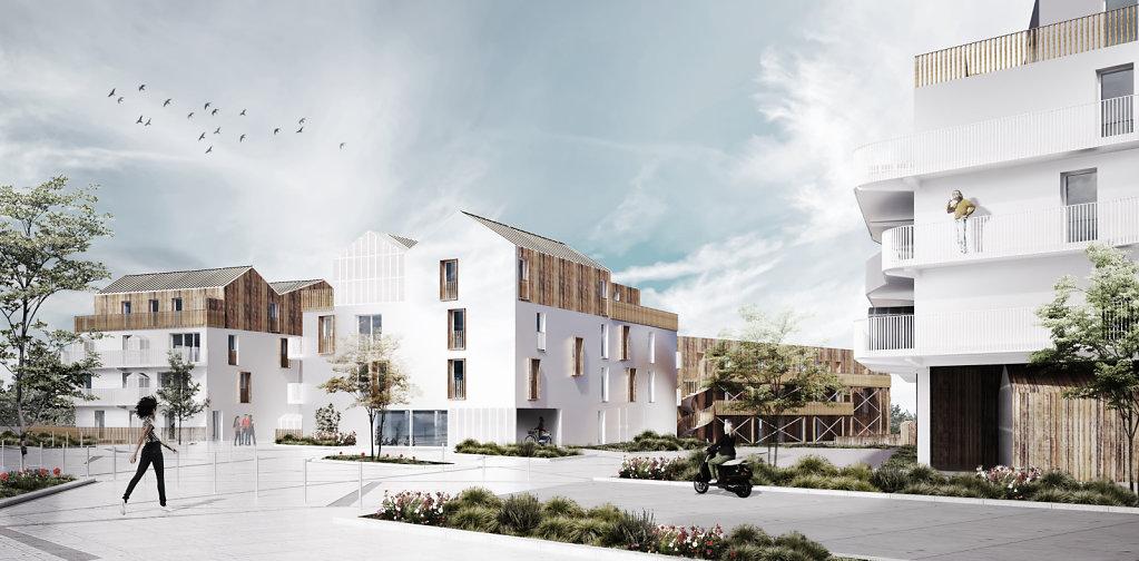 ZAC DE LA JAGUERE // Guinée*Potin Architectes //P.C.//2015