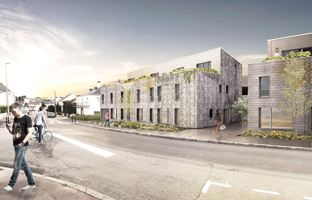 RUE LEMORDANT//Guinée*Potin Architectes/ / 2015